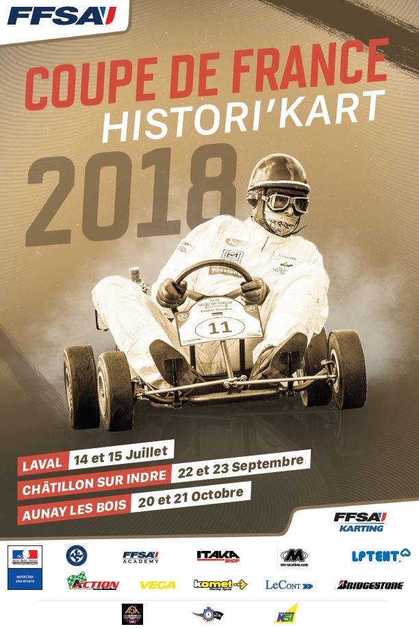 RESULTAT de la coupe de France Histori'Kart 2018